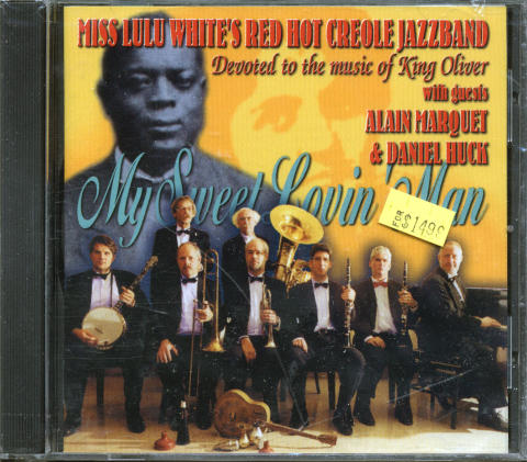 Miss Lulu White's Red Hot Creole Jazzband CD