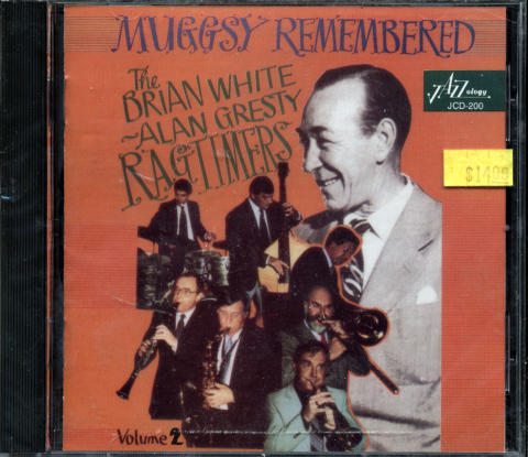 The Brian White/Alan Gresty Ragtimers CD