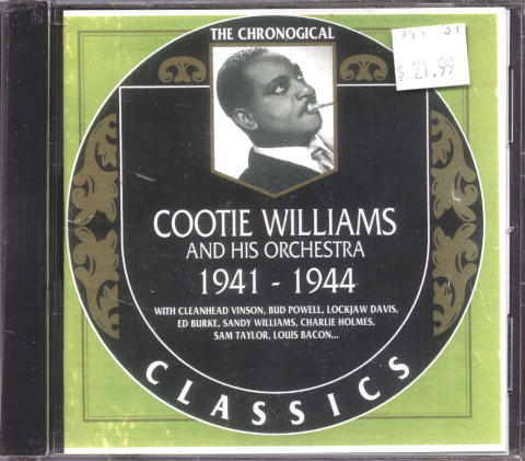 Cootie Williams and His Orchestra CD