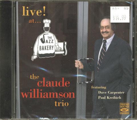 Claude Williamson Trio CD