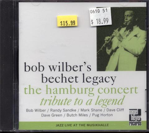 Bob Wilber's Bechet Legacy CD