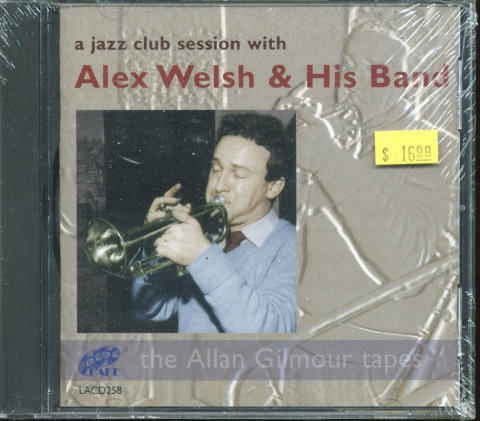 Alex Welsh & His Band CD