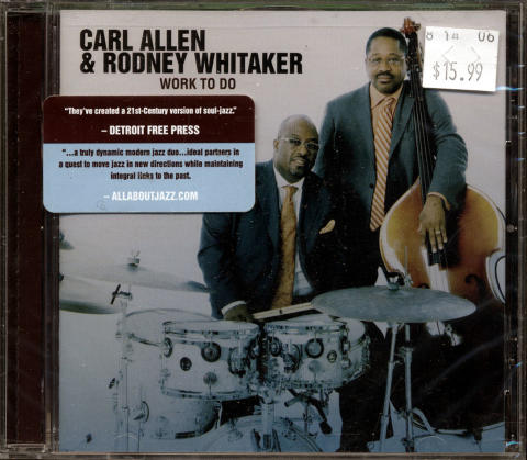 Carl Alllen CD
