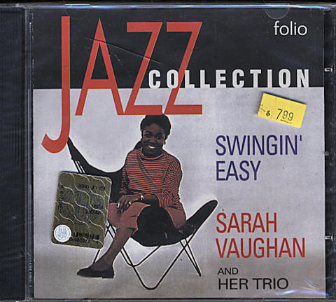 Sarah Vaughan & her Trio CD