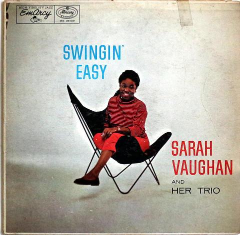 "Sarah Vaughan Vinyl 12"""