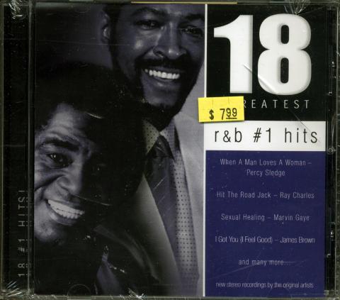 18 Greatest R & B #1 Hits CD