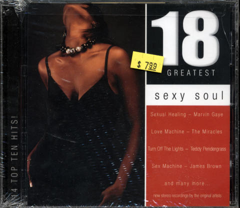 18 Greatest Sexy Souls CD