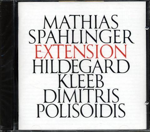 Mathia Spahlinger CD