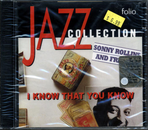 Sonny Rollins and Friends CD