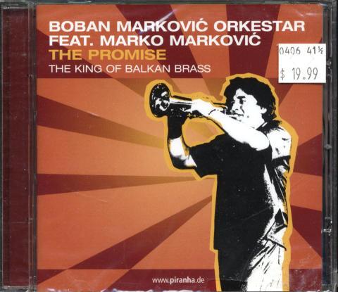 Boban Markovk Orkestar CD