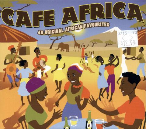 Cafe Africa CD