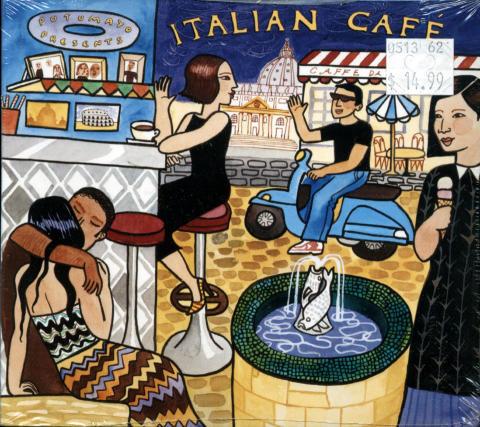 Italian Cafe CD