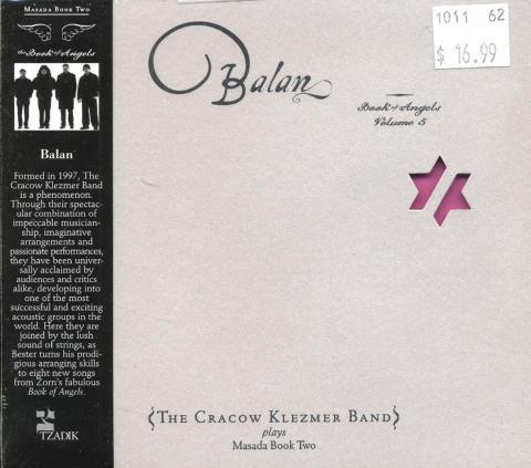 Cracow Klezmer Band CD