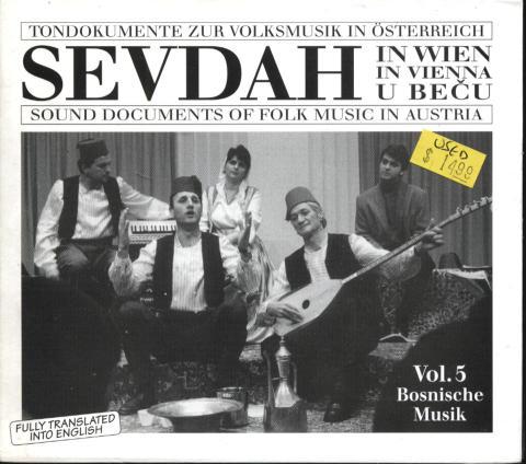 Tondokumente zur Volksmusik in Osterreich CD