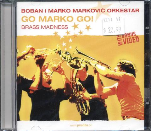 Boban i Marko Markovic Orkestar CD