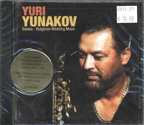 Yuri Yunakov CD