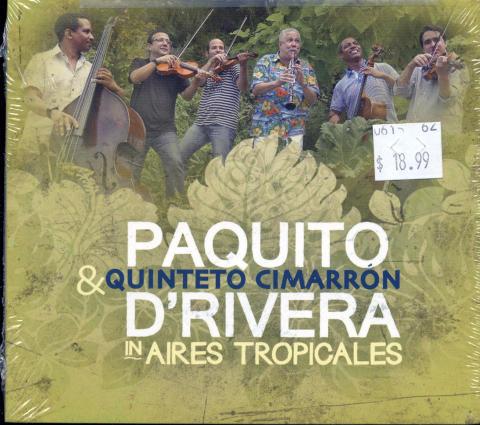 Paquito & Quinteto Cimarron CD