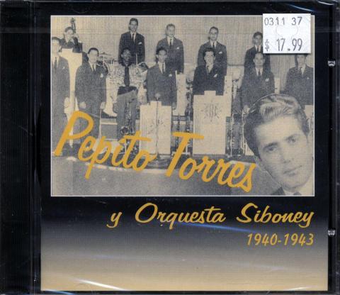 Pepito Torres y Orquesta Siboney CD