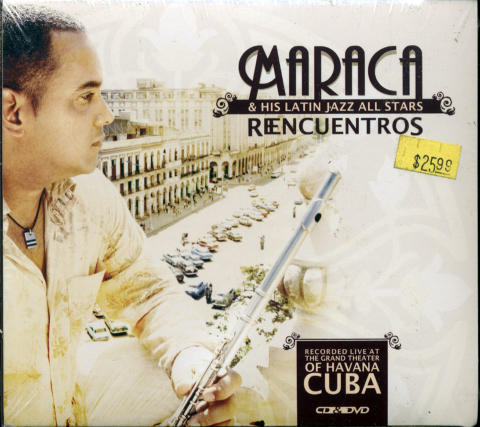 Maraca & His Latin Jazz All Stars CD