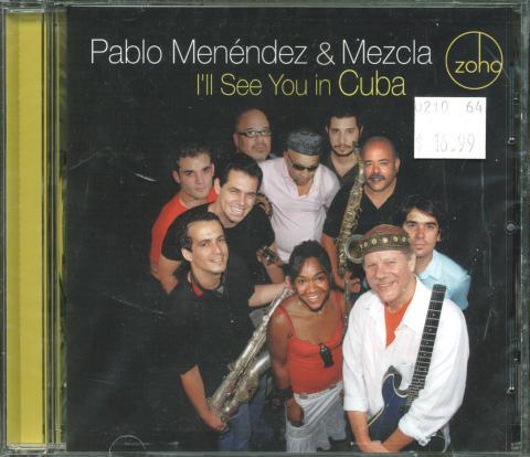 Pablo Menendez & Mezcla CD