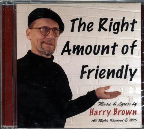 Harry Brown CD