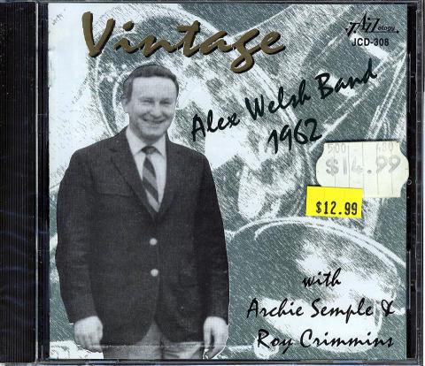 Alex Walsh Band CD
