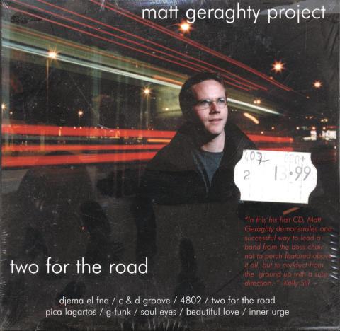 Matt Geraghty Project CD