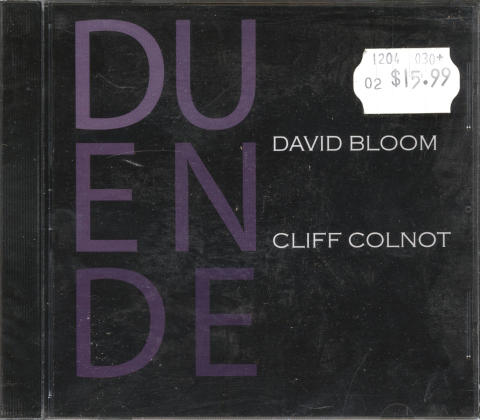 David Bloom CD