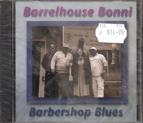 Barrelhouse Bonni CD