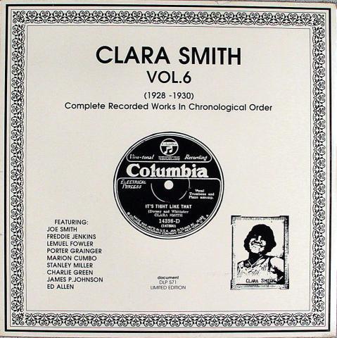 "Clara Smith Vinyl 12"""