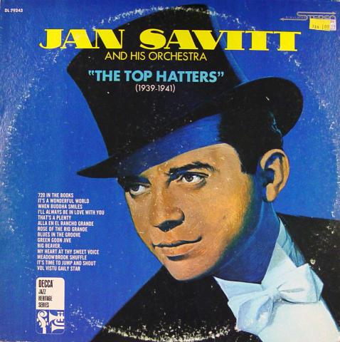 "Jan Savitt & His Orchestra Vinyl 12"""