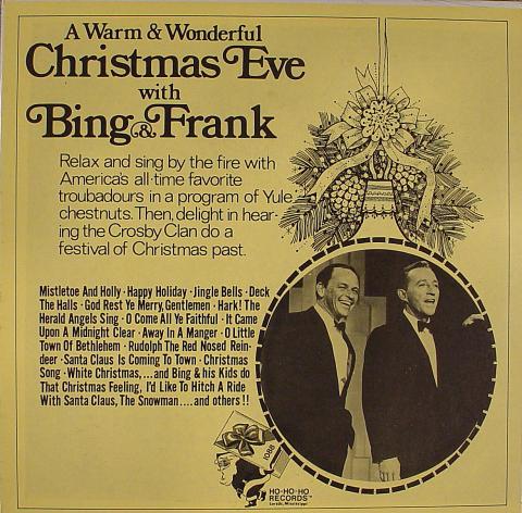 "Christmas Eve With Bing & Frank Vinyl 12"""
