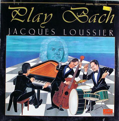 """Jacques Loussier Vinyl 12"""""""
