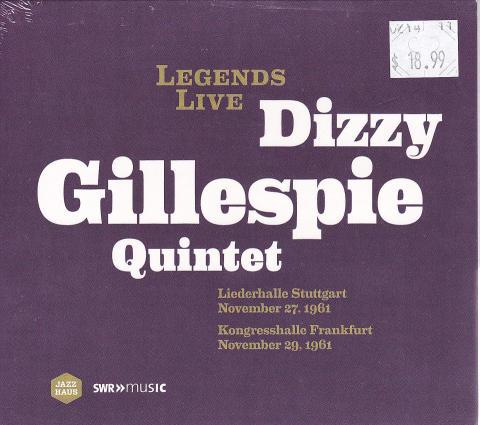 Dizzy Gillespie Quintet CD