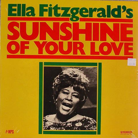 """Ella Fitzgerald Vinyl 12"""""""