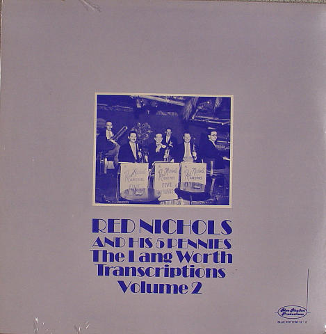 """Red Nichols and His 5 Pennies Vinyl 12"""""""