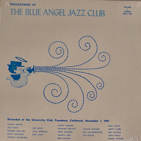 The Blue Angel Jazz Club Vinyl 12""
