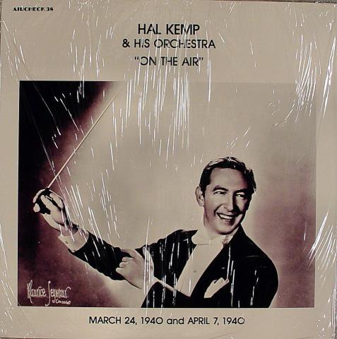 "Hal Kemp & His Orchestra Vinyl 12"""