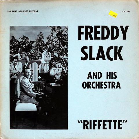 "Freddy Slack and His Orchestra Vinyl 12"""