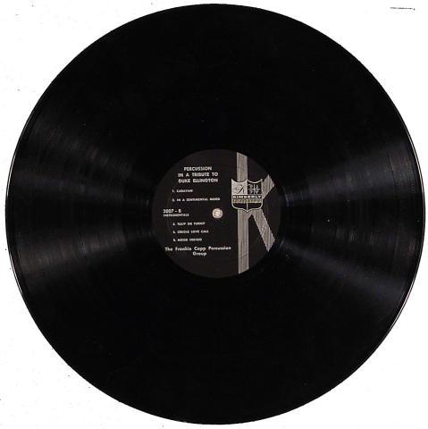 "Frankie Capp Percussion Group Vinyl 12"""