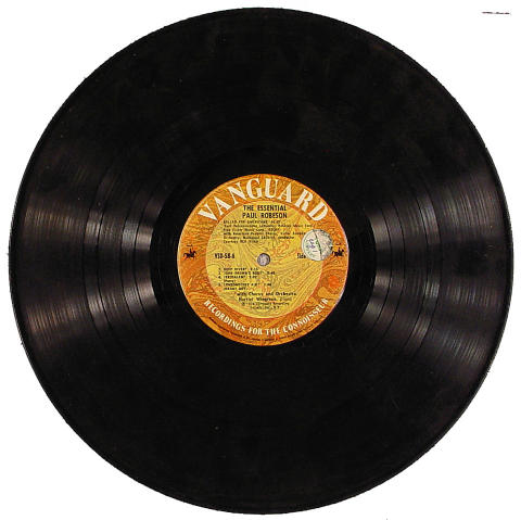 "Paul Rebeson Vinyl 12"""