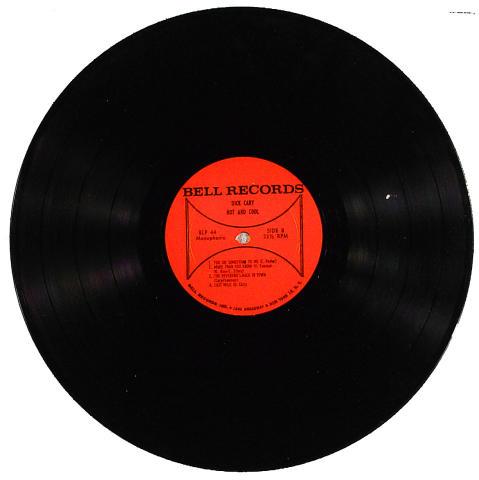 "Dick Cary Vinyl 12"""