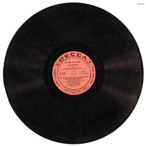 """Jeri Southern Vinyl 12"""""""