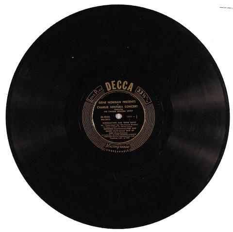 """Charlie Ventura Vinyl 12"""""""