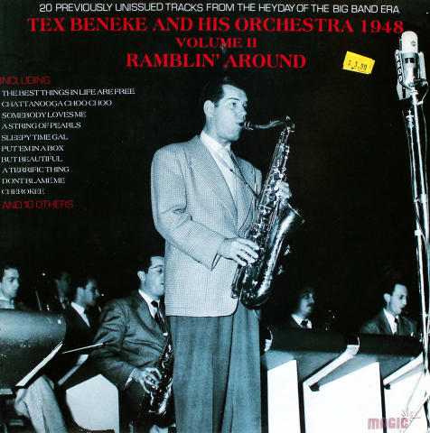 Tex Beneke and His Orchestra 1948 Vinyl 12""