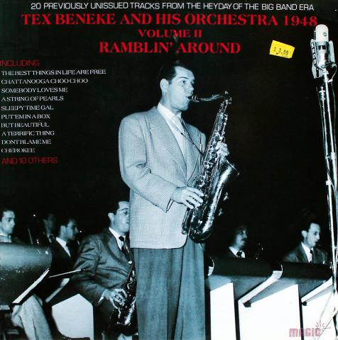 "Tex Beneke and His Orchestra 1948 Vinyl 12"" (New)"