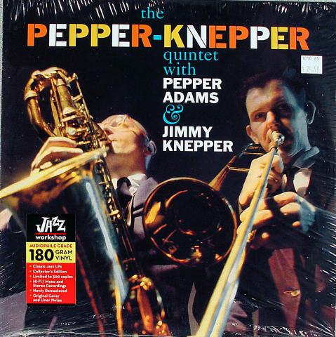 "Pepper-Knepper Quintet Vinyl 12"""