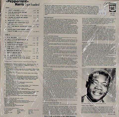 """Peppermint Harris Vinyl 12"""""""