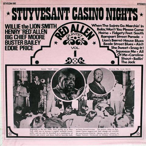 """Stuyvesant Casino Nights Vinyl 12"""""""