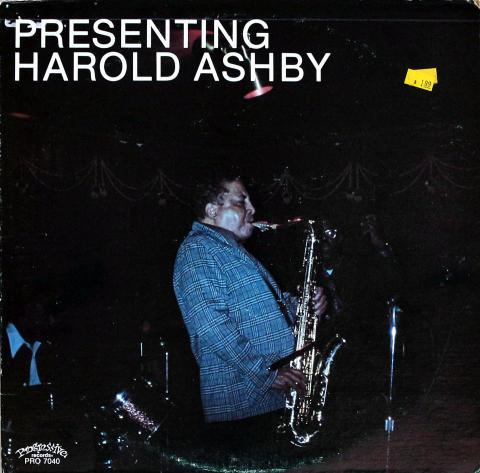 """Harold Ashby Vinyl 12"""""""